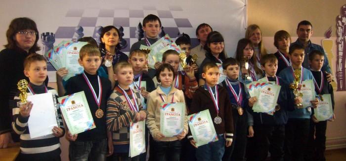 Участники чемпионата Кузбасса: большие и маленькие