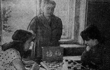 Л. Окунёва, Ю. Ружанская и Г. Васильева