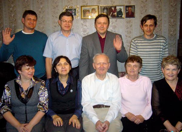 В гостях у Александра Борисовича, 2 января 2013 г.